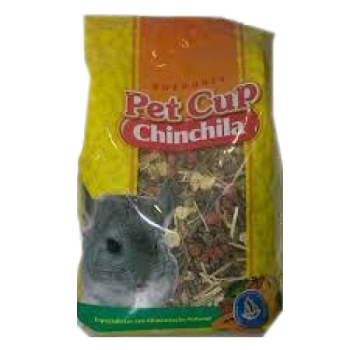 Mistura Chinchila 3 Kg Pet Cup