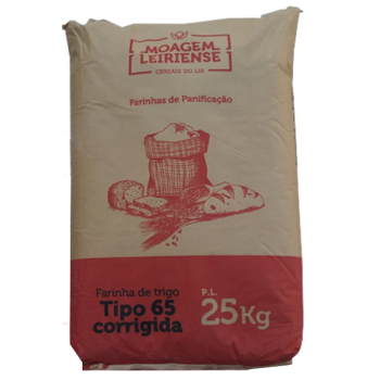 Farinha T 65 Corrigida 25 Kg