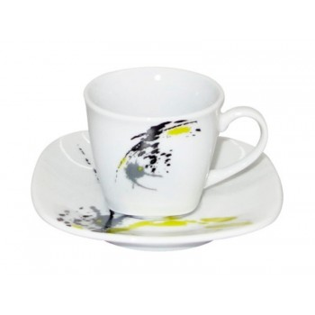 Conj 6 Chavenas café G676