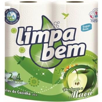 Limpa Bem Rolo Cozinha Soft...