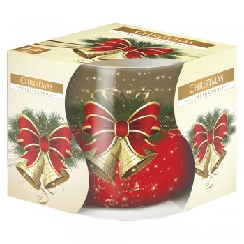 Vela Aromatica Natal em Copo