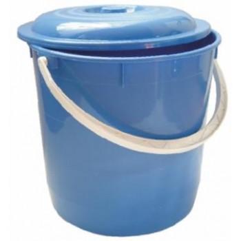 Balde Lixo C/ Tampa 15 Lt