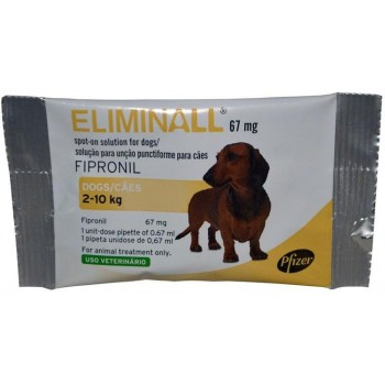 Eliminall Cão 67 Mg 2/10 Kg