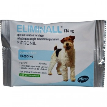 Eliminall Cão 134 mg 10/20 Kg