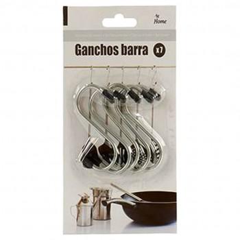 Conj 5 Ganchos Metal
