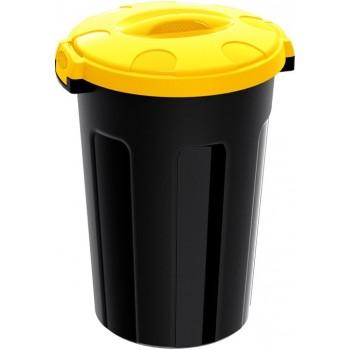 Balde Lixo 47 lt Preto +...