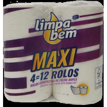 Limpa Bem Papel Higienico 4...
