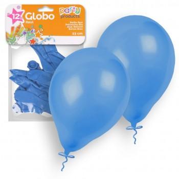Balões Azuis 23 cm pk 12