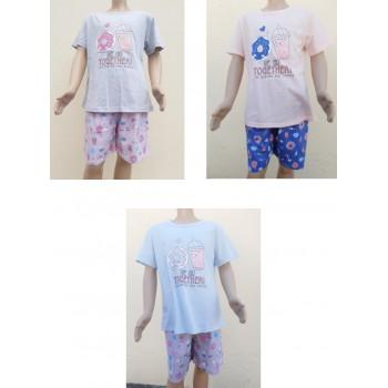 Pijama Verão Menina Ref F9505