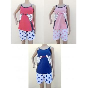 Pijama Verão Mulher Ref...
